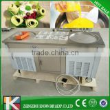 CE Fried Ice Cream Machine | Thai Fry Ice Cream Roll Machine | Flat Pan Fried Ice Cream Machine