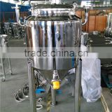 Customize stainless steel home brew fermenter/conical fermenter/home beer brewery equipment