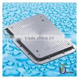 SMC Manhole Cover Clear Open 600mm x 450mm B125 C250 With Lockable Bolt /smc square manhole cover