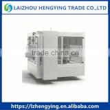 HL2B-10 Full automatic rotary double labeling stations cold gluele bottle labeling machine