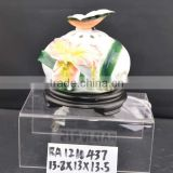 hand painted ceramic electric oil burner lamp with aromatheraphy function