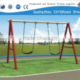 (CHD-872) Guangzhou wholesale double swing for kids, outdoor games children swing, double baby swing