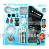 1200X Microscope set microscope biology doctor set toys microscope intellect toys