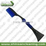 S05.061black + blue PP ,TPR car wash brush with short handle/soft bristle car wash brush/car wash brush with long handle