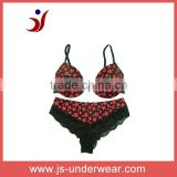 2012 hot selling printed girls fashion bra