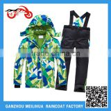 Boys girls 190T Nylon brand new Ski Suit with pants