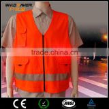 High Visibility LED Light up Work Reflective clothing safety