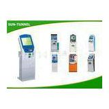 Code Keyboard Credit Card Kiosk Payment Machine For Railway Station