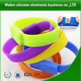 Silicone Cute Wristband Bracelet USB Flash Drive Memory Pen Gift Creative