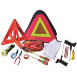 16 pcs triangle bag car roadside emergency kits