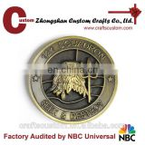 Custom eagle challenge coins for sale