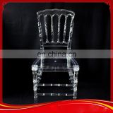High quality acrylic paslic custom design napoleon phoenix crystal bamboo chair