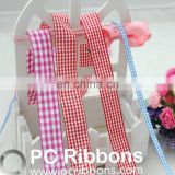 Nylon plaid ribbons