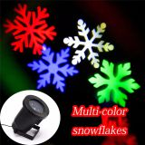 Snowflake LED Laser Projector Stage Light RGB Xmas Light Outdoor Waterproof Landscape Garden Party Decoration Holiday