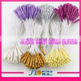 Newest cheap craft stamen artificial flower stamen wire glitter stamen for flower making