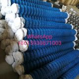 4m high pvc coated chain link sports mesh fence