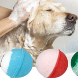 Dog and cat bath bath ball pet dog spa effervescent tablets open knot to taste fluffy beauty hair skin care