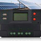 Large stock 48v 30a differential temperature solar charger controller mppt