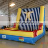 Magic inflatable sticky wall jumping game adult