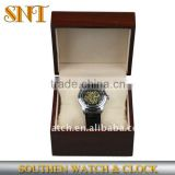 Leather band men fashion mechanical watch for gift