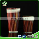 Factory custom 2oz single wall material export cold soft drink beverage paper cup