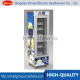 cold drink freezer ice cream freezer vertical freezer glass door                                                                                                         Supplier's Choice