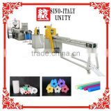 Factory Direct Sales PE foaming tube extruder machine plastic