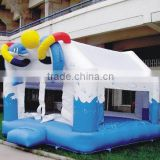 jumping castle fun dolphin bounce funny toys kids castle