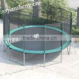 16ft outdoor trampoline(elastic band insted of spring)