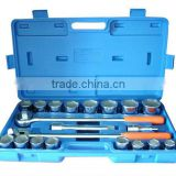 "21pcs 3/4"" drive socket wrench set auto repair equipment"