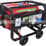 Dual fuel natural gas and gasoline generator 2.5kw with key start and decompression valve