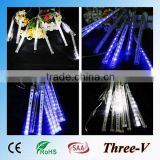 20/30/50cm Christmas LED Meteor Shower Tube Snowfall Lights New Year Decoration                                                                         Quality Choice
