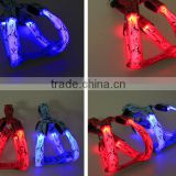 2016 LED nylon reflective tape dog tag pet belt