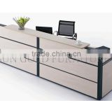 used reception desk dimensions shop counter design(SZ-RTT002)