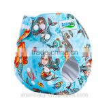 AnAnBaby soft breathable cotton baby cloth diaper nappy pants wholesale China
