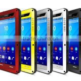 Original Love Mei Waterproof Case For Sony Xperia m5 Shockproof Metal Powerful Gorilla Glass Hybrid Phone Cover Case TB-0151