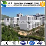 High quality ecological recycled high container buildings prefab apartment/hotel
