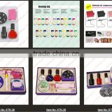2014 !!! New DIY Design Kit Professional Nail Art Stamp kits Nail Stamping Polish Design Kit Set Decoration[200413 ]