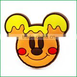 2016 cute 3d bear fridge magnet pvc for home deco