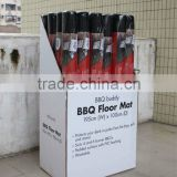 100% polyester barbeque grill mat in nonwoven felt