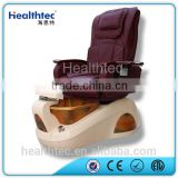 luxury glass bowl pedicure spa massage chair for nail salon