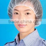 Leboo Disposable Non-woven Hair Net Cap Mob Elastic Free Size