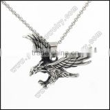 stainless steel jewelry eagle pendant