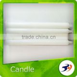 Candle 100% Paraffin Wax Unscented White Candle
