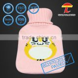 lovely baby usage knitted hot water bottles cover