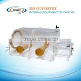 high quality ACRYLIC GLOVE BOX VGB-2 for lithium battery with Gas Purification System lithium battery production line