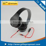 Folding Headphones Wired Headset Print Customized Logo on Ear cups Own Design Package is Availale