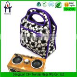 Wholesale insulated printing neoprene multi-compartment lunch bag
