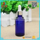 wholesale 50ml cheap round cobalt blue attar bottle/essential oil bottle                                                                                                         Supplier's Choice