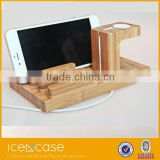 High quality 2016 wood for apple watch,for mobile phone wooden watch stand